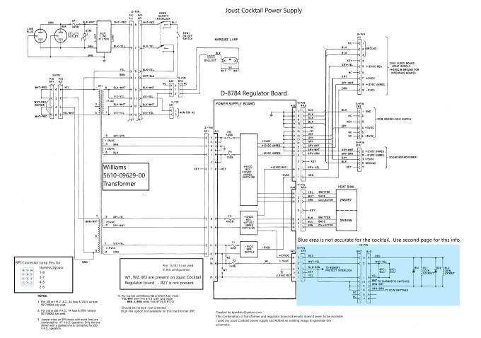 [TVPR_3874]  Joust Cocktail Restoration - Plenty of pics | Museum of the Game® Forums | Joust Wiring Diagram |  | KLOV Forums