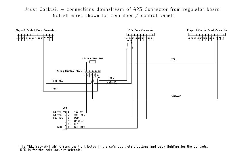 [DIAGRAM_38IS]  Joust Cocktail – Power Supply Rehab – My many projects and how they happen | Joust Wiring Diagram |  | George McFly - WordPress.com